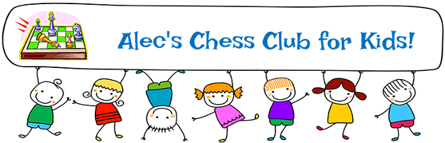 Alec's Chess Club for Kids Logo